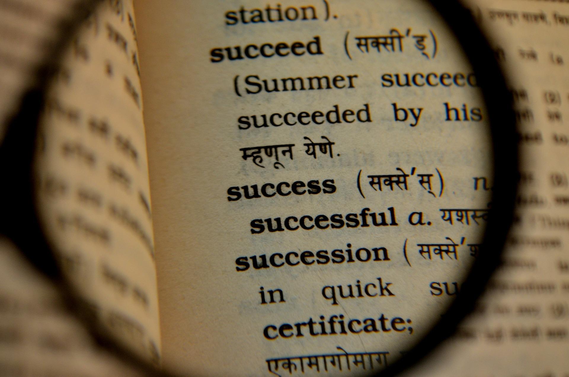 Recording English vocabulary