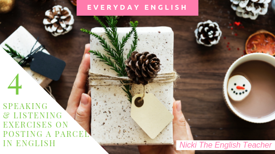 post a parcel in English